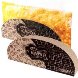 Embalagem para Pastel e Tapioca com 100 unidades