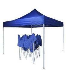 Tenda dobrável azul 3X3 reforçada
