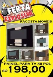 Título do anúncio: painel para tv 1,20x90 ate 48 polegadas só 198,00 consulte taxa de entrega