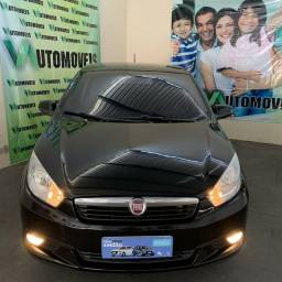Fiat Grand Siena Attractive, 1.4, 2013, flex, manual, completo.