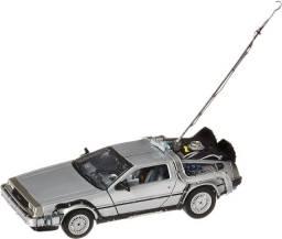 Miniatura De Volta Para o Futuro DeLorean 21cm 1:24