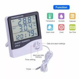 Higrometro medidor temperatura e umidade