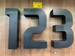 Número Residencial Roper Plast Preto