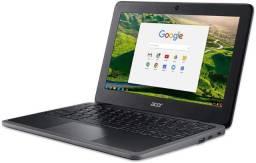 """Chromebook Acer C733T-C0QD (Novo) Intel Celeron 4 GB 11.6"""" Chrome OS"""