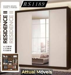Título do anúncio: Guarda roupa residence