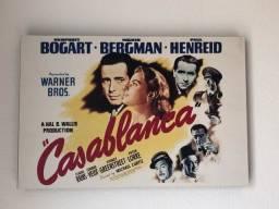 Poster Casablanca - Vintage