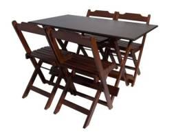 Vendo Mesa de Bar com Cadeiras