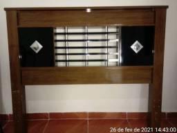 Cabeceira de Cama Casal Tamanho Padrão Semi-Nova com Pintura e Qualidade de Fabrica