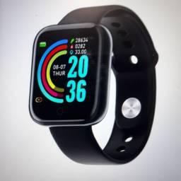 Relógio inteligente smartwatch MODELO: D20 Y68 Aprova D água: