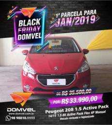 Peugeot 208 1.5 Active Pack Manual - 2015