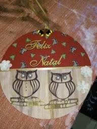 Guirlanda de Natal Artesanal e Placas em geral