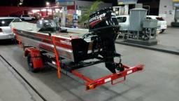 Barco carreta e motor 40 - 2018