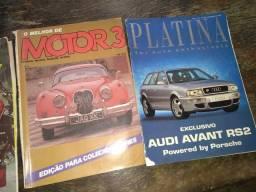 Revistas antigas e colecionáveis
