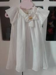 Vestido de batizado lilica tamanho 1