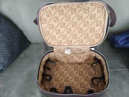 Bolsa maleta maquiagem viagem