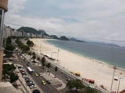 Venha passar o Réveillon em Copacabana vista total para o Mar