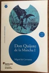 Livro Don Quijote de La Mancha1, Editora Santillana Español, c/ CD