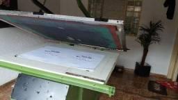 Impressora Serigrafia Elétrica Semiautomática