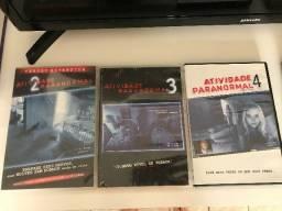 DVD Atividade Paranormal 2,3 e 4