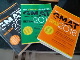 Guia Oficial Gmat 2016 + verbal review + quant review