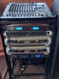 Equipamento áudio completo, shows, igrejas, eventos