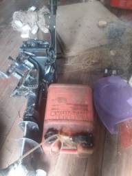 Motor de voadeira de 15 Everunde da Yamaha