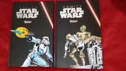 Comics Star Wars Clássicos, Vol. 1 e 2 + HQs Darth Vader (Panini Comics)