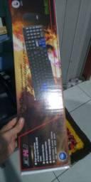 Kit Teclado E Mouse Wireless Haiz S/fio Notebook Pc Hz801