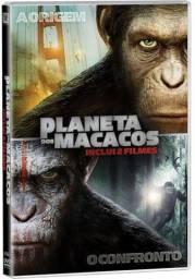 Planeta dos Macacos O Confronto Dvd Original Novo Lacrado Dublado