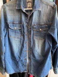 Camisa / jaqueta Jeans