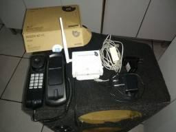 Kit de auto instalação da oi com telefoene