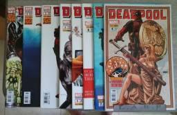 Combo Deadpool (primeira tiragem) nº 01 ate 16