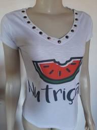 T-Shirts charmosinhas Nutrição