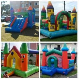 Locação Brinquedos: pula pula,piscina,aero hockey,pebolim,fliperama,infláveis,mesas