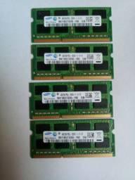 Memorias Ram 4GB cada ddr3 na promoção por apenas 90 cada
