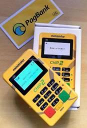 Máquina de passar cartão moderninha chip2 R$79