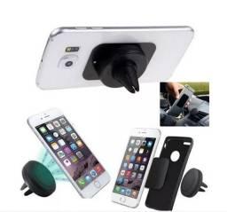 Suporte Veicular Magnético Imã Celular Smartphone Gps Saida Ar Wpp: *