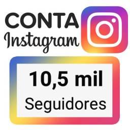 Conta Instagram 10,5 mil Seguidores