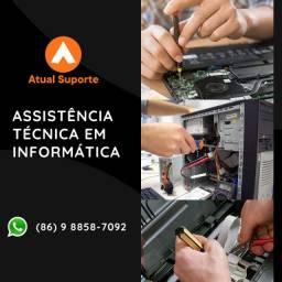 Assistência Técnica Conserto e Manutenção de Computadores Notebook Impressoras