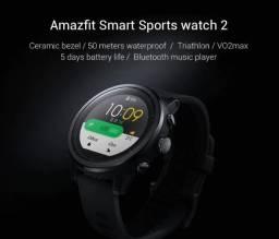 Smartwatch Amazfit Stratos 2 *modo esporte triathlon