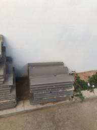 Vendo telha de concreto 100 unidades