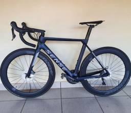 Bicicleta Bike Speed Sense Vortex 2020 Carbono Tamanho L 54 Super Nova Sem Detalhes com NF