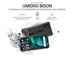 Umidigi Bison - 128gb - celular a prova d'água