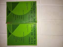 Filósofos na sala de aula. Vol 2 (VALOR UNIRLTÁRIO)