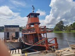 Vendo ou troco barco e empurrador