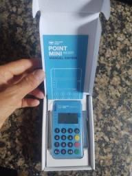 Maquininha- Nova Point Mini do Mercado Pago com função NFC.