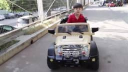 Carro Jipe Eletrico Infantil