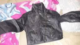 Vendo esses itens casaco de couro