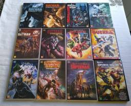 COLEÇÃO: Filmes Animados da DC Comics.