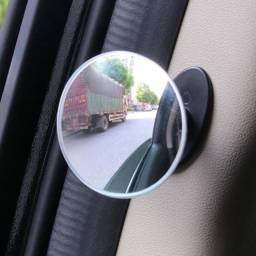 Espelho de ponto cego convexo redondo